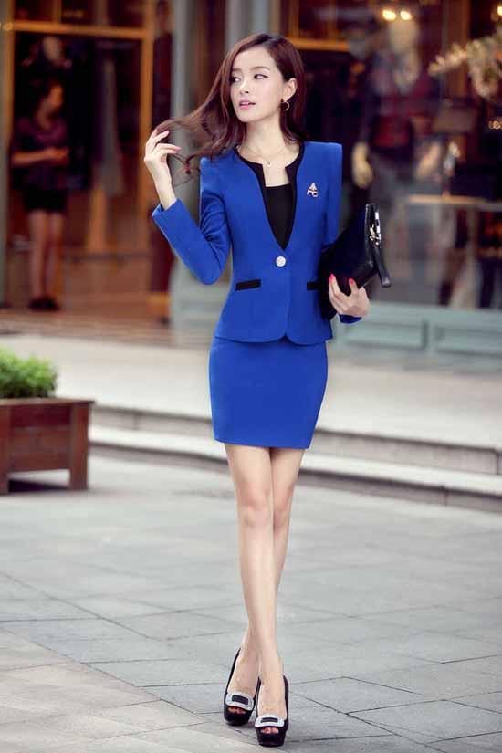 ชุดสูทผู้หญิง แฟชั่นเกาหลี2ชิ้นคุณภาพหรูหรา นำเข้า พรีออเดอร์