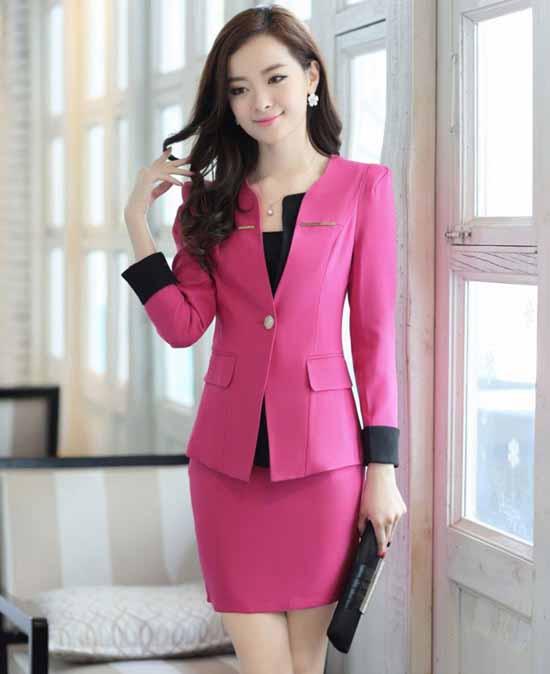 ชุดสูท แฟชั่นเกาหลีผู้หญิงสวย3ชิ้นอินเทรนด์ใหม่ นำเข้า