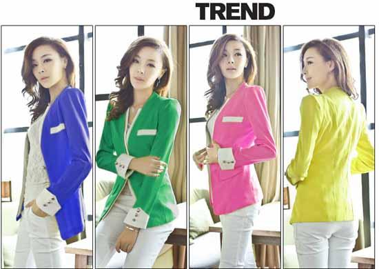 เสื้อสูท แฟชั่นเกาหลี New Women Suit นำเข้า ไซส์MถึงXXL  พรีออเดอร์