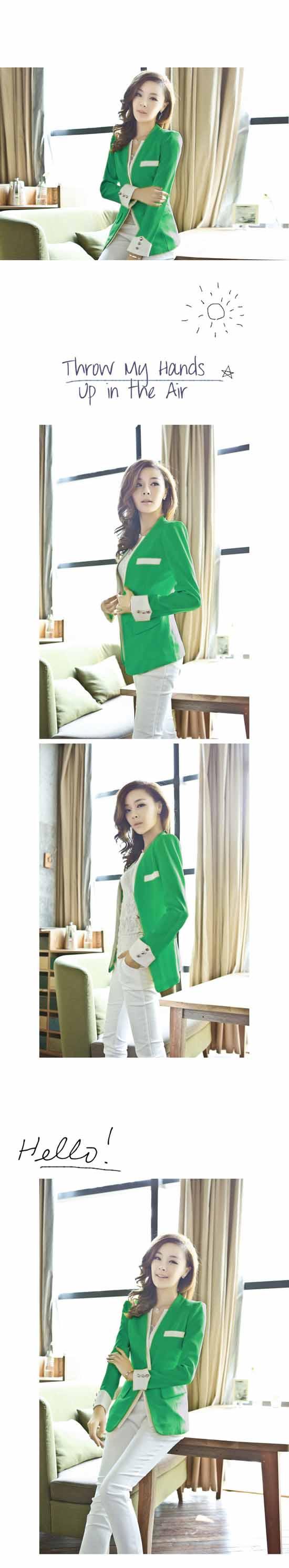 เสื้อสูท แฟชั่นเกาหลี New Women Suit นำเข้า