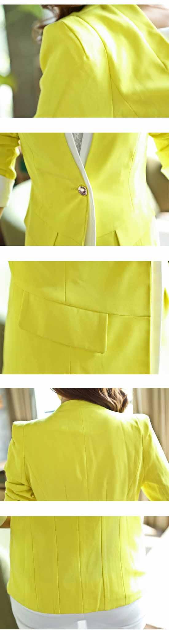 เสื้อสูท แฟชั่นเกาหลี New Women Suit นำเข้า พรีออเดอร์