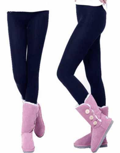 เลกกิ้งกันหนาว ลองจอนขายาวผู้หญิงผสมผ้าวูลใส่เพิ่มความอบอุ่นแฟชั่นเกาหลี นำเข้า ฟรีไซส์ สีดำ - พร้อมส่งTJ7493 ราคา590บาท
