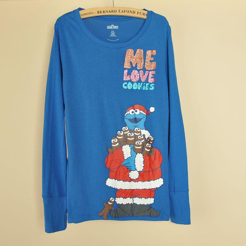 ชุดนอนกางเกงขายาวกันหนาว แฟชั่นผู้หญิงผ้าสำลีพิมพ์ลายน่ารัก นำเข้า สีฟ้าน้ำเงิน - พร้อมส่งTJ7538 ราคา990บาท