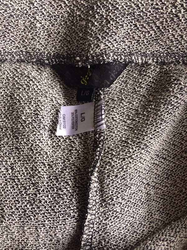 กางเกงวอร์มขายาว ผู้หญิงผ้าคอตตอนเอวยางยืดแฟชั่นเกาหลีรุ่นใหม่ นำเข้า ไซส์L สีเทา - พร้อมส่งTJ7692 ราคา850บาท