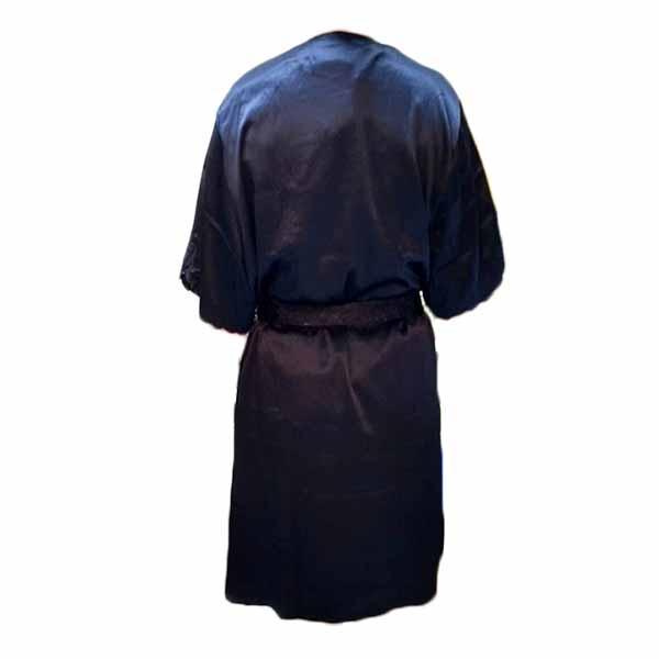 ชุดนอน2ชิ้น ผ้าซาตินหนานุ่มแฟชั่นเนื้อผ้าพิเศษใส่สบายแบบหรูหรา นำเข้า สีน้ำเงิน - พร้อมส่งTJ7770 ราคา900บาท