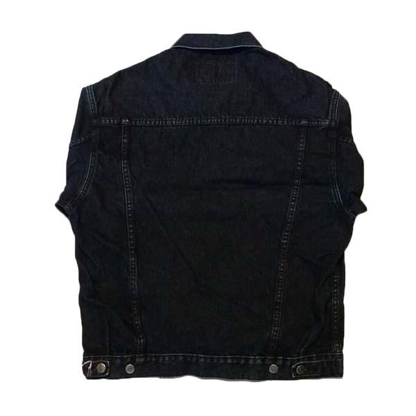 เสื้อแจ็คเก็ตยีนส์แฟชั่นเกาหลีแขนยาวเอวตรงทรงหลวมเทรนด์ใหม่ ฟรีไซส์ สียีนส์ดำ - พร้อมส่งTJ7734