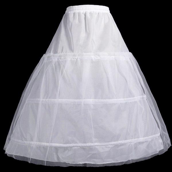 กระโปรงยาวสุ่มเจ้าสาวซับในแบบพองด้านในชุดแต่งงานราตรีมีโครง3ชั้น ฟรีไซส์ นำเข้า - พร้อมส่งW907 ราคา550บาท