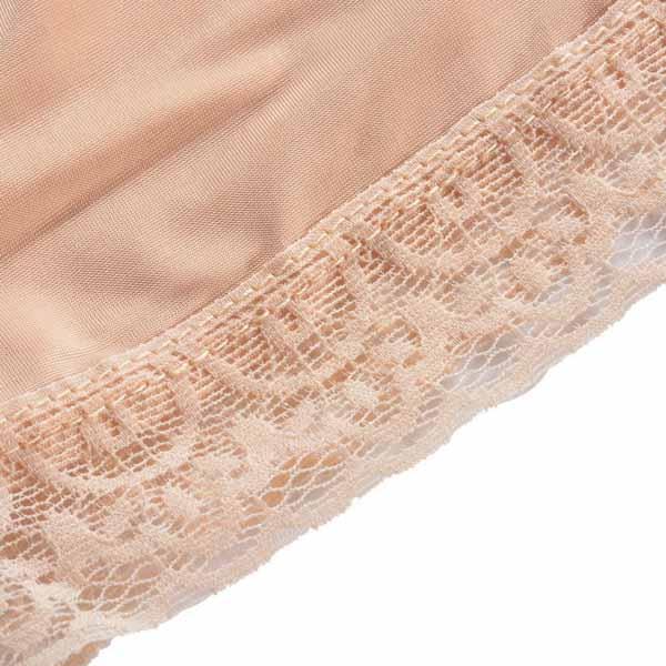 กางเกงซับใน ขาสั้นลูกไม้ใส่กับแซกเดรสชุดราตรี นำเข้า ฟรีไซส์ สีครีม - พร้อมส่งMY1235 ราคา159บาท